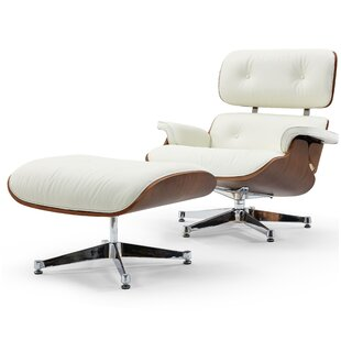 Firenze Lounge Chair and Ottoman by Pasargad