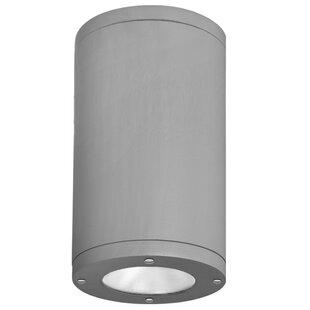 Orren Ellis Janice 1-Light LED Flush Mount