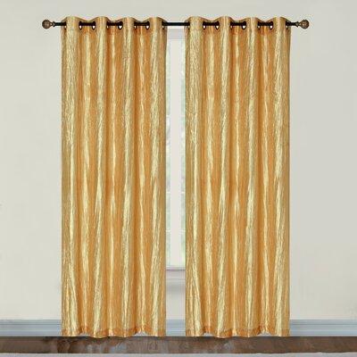 Linden street single curtain rod