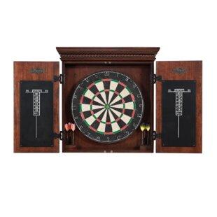 Cavalier Dart Board Cabinet Set By American Heritage
