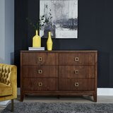 Robbinsdale 6 Drawer Double Dresser by Wrought Studio™