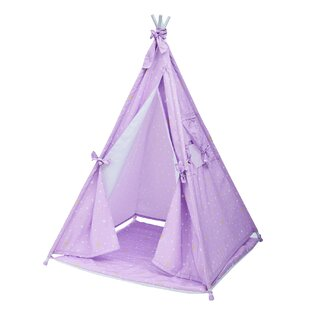 Happy Land Twinkle Star Play Teepee with Carrying Bag By Teamson Kids