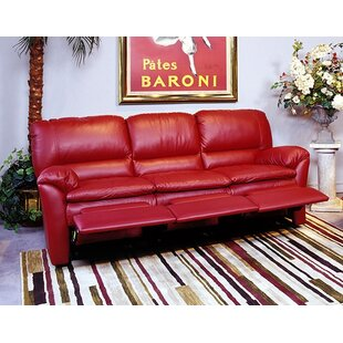 Omnia Leather Luxor Leather Reclining Sofa