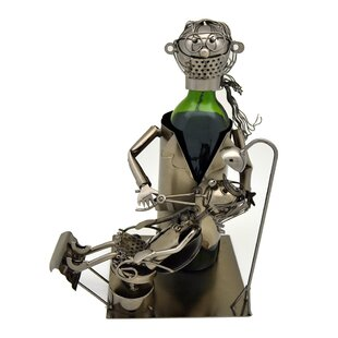 Wine Bodies Lady Dentist 1 Bottle Tabletop Wine Rack