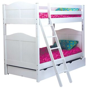 Affordable Price Bonneau Traditional Twin Bunk Bed by Harriet Bee Reviews (2019) & Buyer's Guide