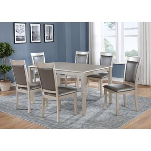 Kitterman 7 Piece Dining Set