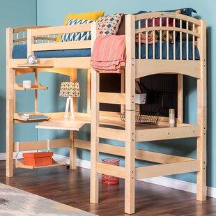 Bunk Beds U0026 Loft Beds With Desk Youu0027ll Love | Wayfair.ca