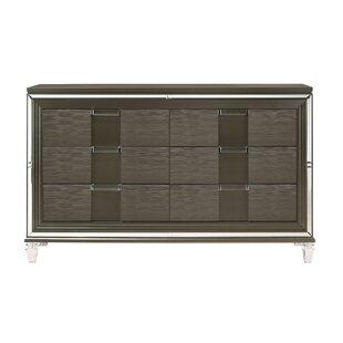 Gilmore 6-Drawer Double Dresser by Mercer41