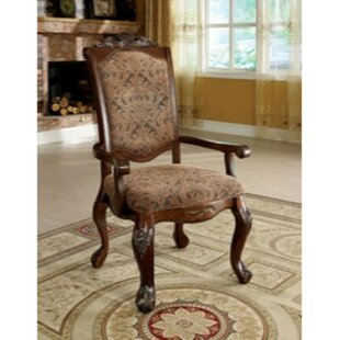Burbank Upholstered Dining Chair (Set Of 2) by Astoria Grand Savings