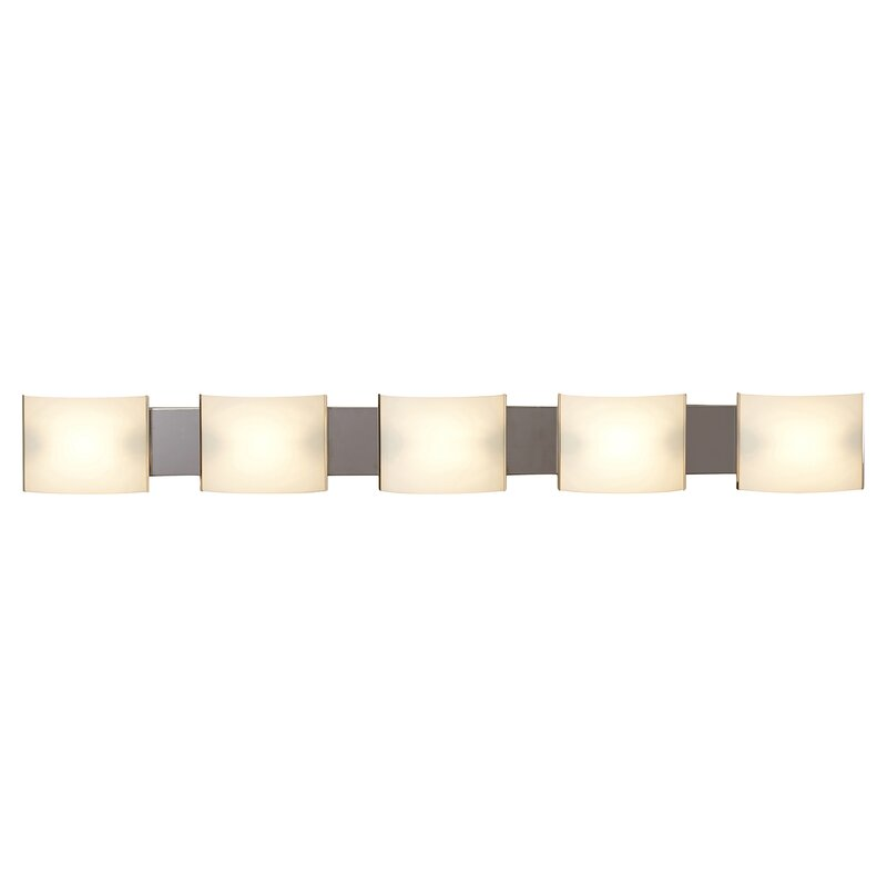 Chaunte 5 Light Bath Bar