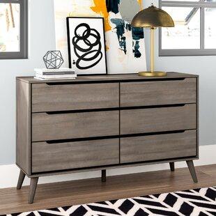 Mason 6 Drawer Double Dresser