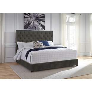 Charlton Home Rivers Upholstered Panel Bed