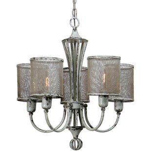Laurel Foundry Modern Farmhouse Cyrus 5-Light Shaded Chandelier