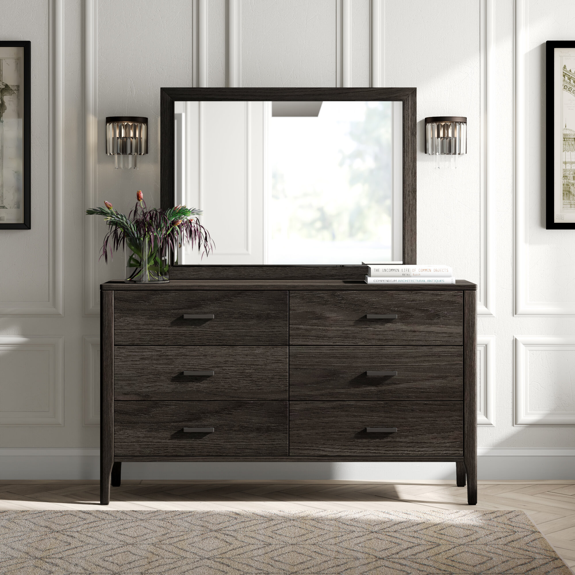 Mirror Tall Dressers Chests You Ll Love In 2021 Wayfair