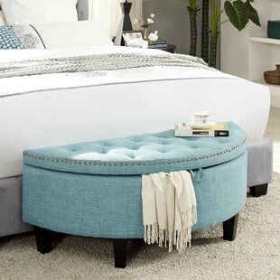 Venne Tufted Storage Ottoman by Charlton Home