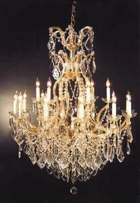 Astoria grand alvarado 16 light gold crystal chandelier reviews alvarado 16 light gold crystal chandelier aloadofball Images