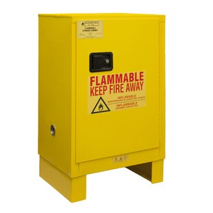 41 H x 23 W x 18 D Flammable Safety Cabinet by Durham Manufacturing