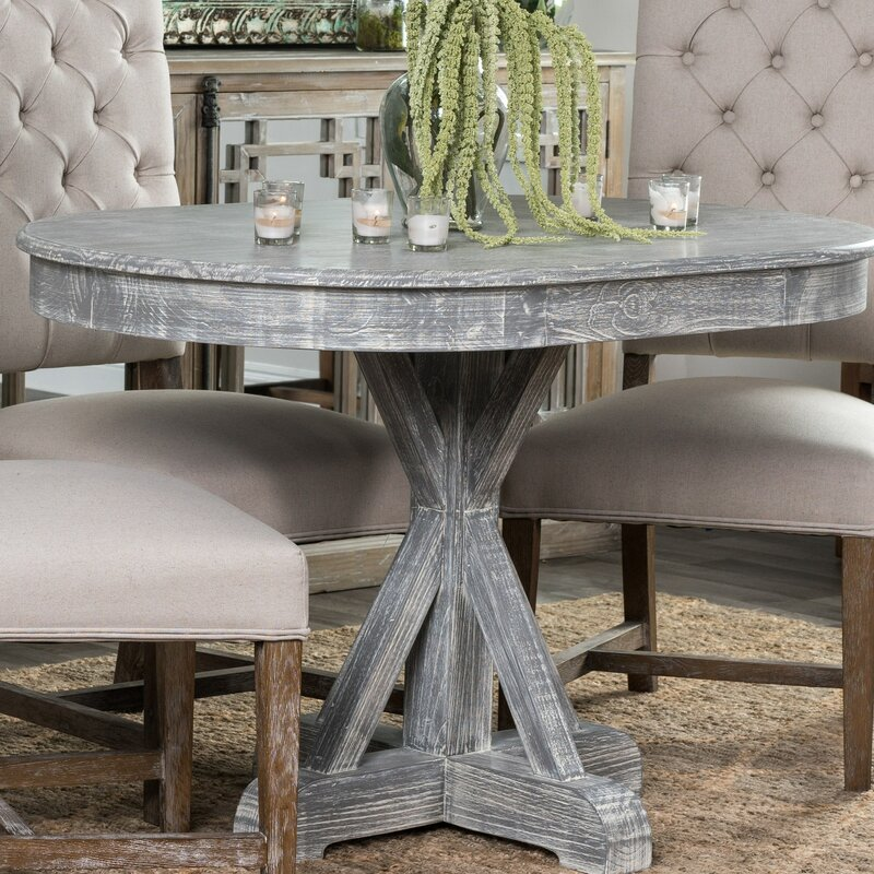20f6067dcb05 Genoveva Solid Wood Dining Table & Reviews | Joss & Main