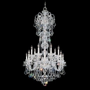 Schonbek Olde World 14-Light Chandelier