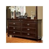Yerkes 6 Drawer Double Dresser by Winston Porter