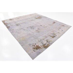 Sela Vintage Persian Hand Woven 100% Wool Violet Oriental Area Rug