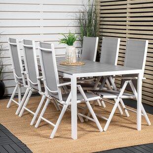 Alayja 6 Seater Dining Set By Sol 72 Outdoor