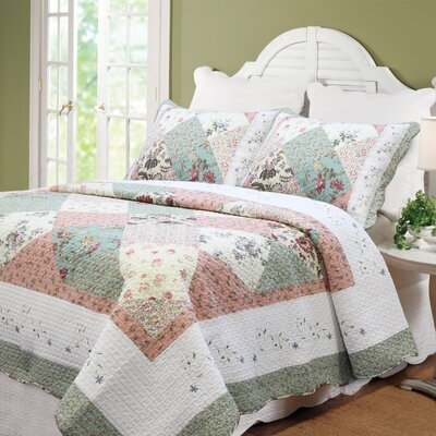 Cozy Line Home Fashion Williamsburg Forest Patchwork Quilt Set ... : patchwork quilt set - Adamdwight.com