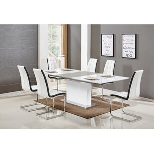 Sudha 5 Piece Extendable Dining Set Orren Ellis