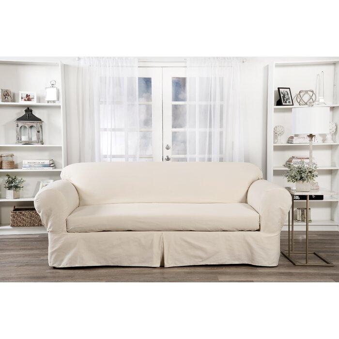 Outstanding Box Cushion Sofa Slipcover Short Links Chair Design For Home Short Linksinfo