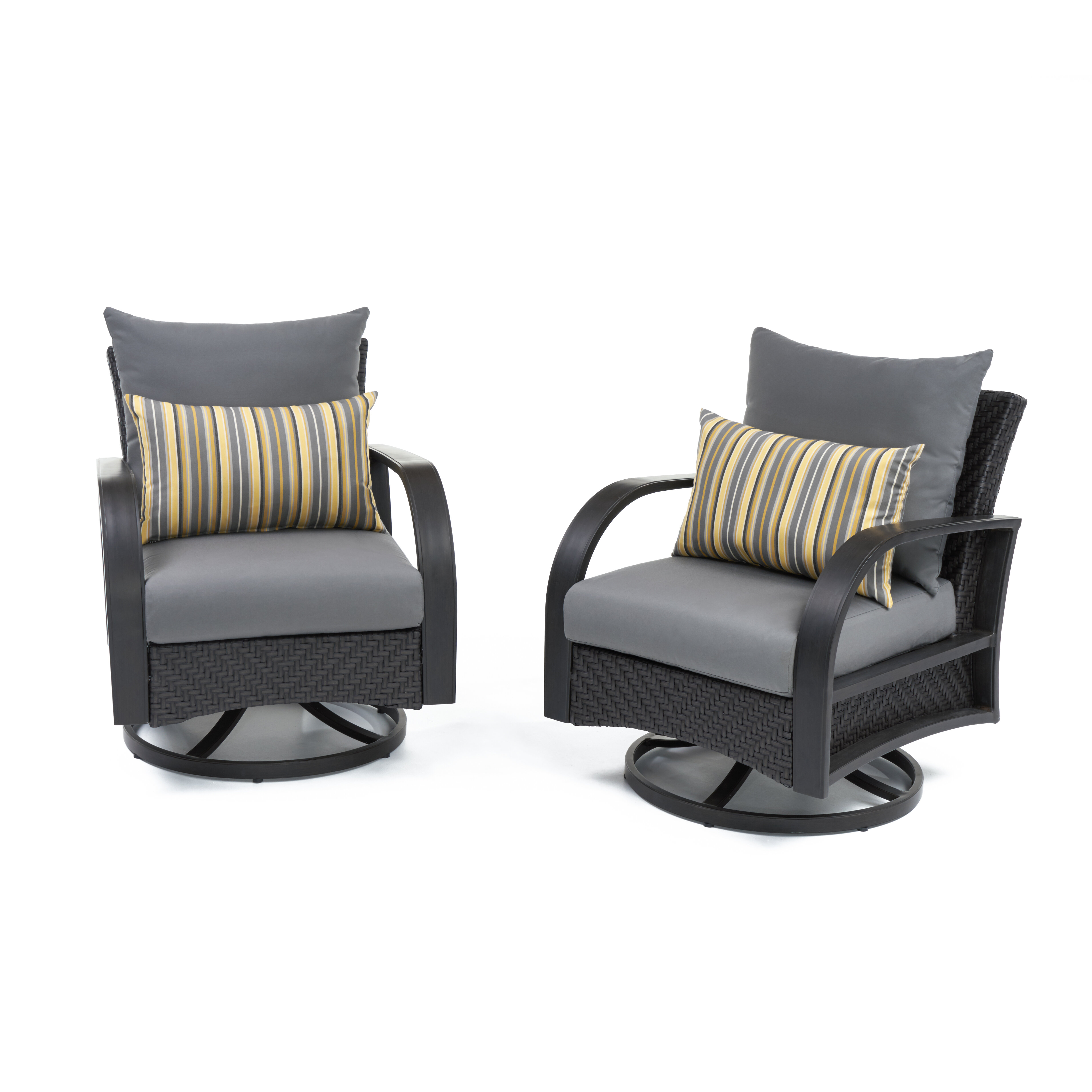 Swell Cerralvo Swivel Patio Chair With Sunbrella Cushions Cjindustries Chair Design For Home Cjindustriesco