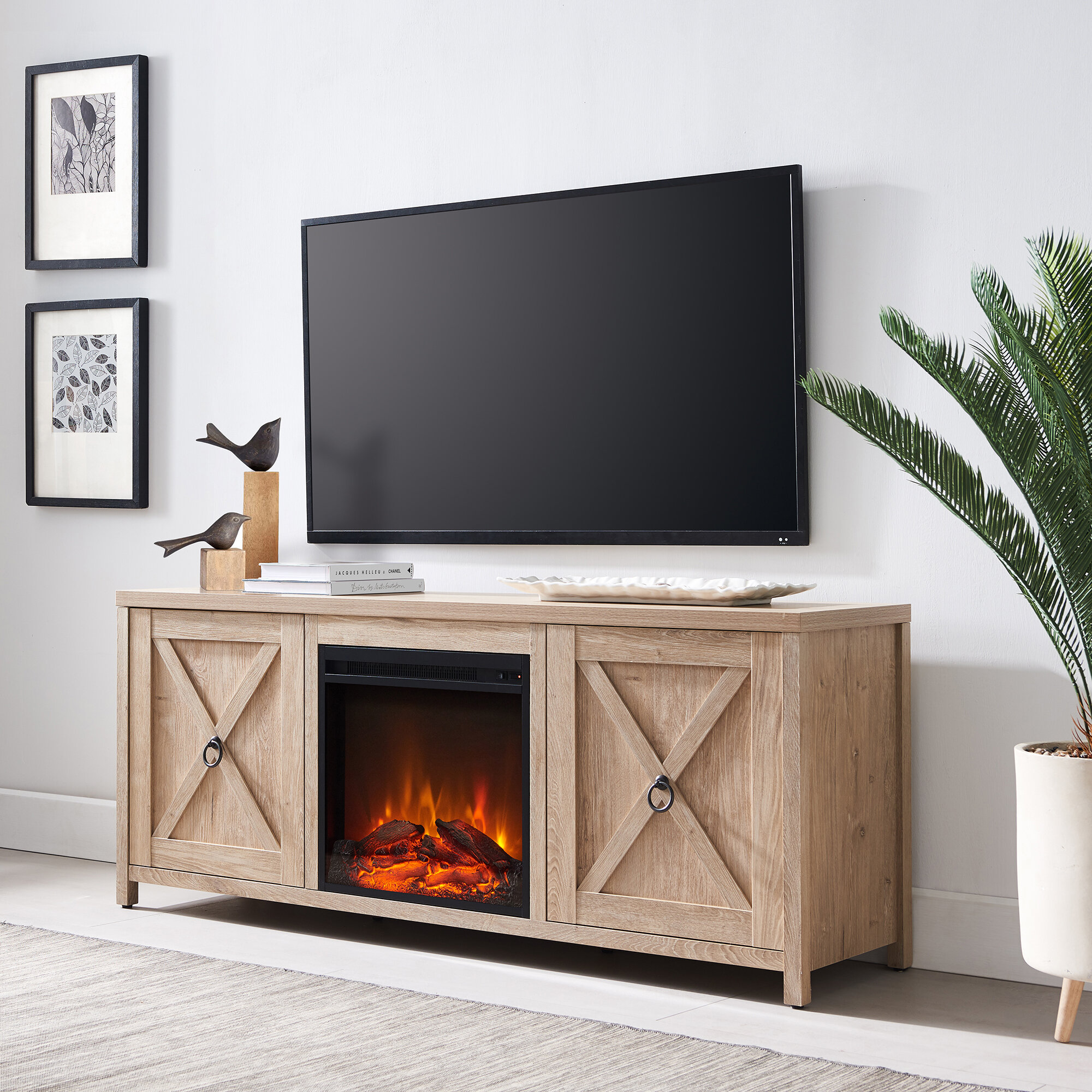 60 69 Inch Fireplace Tv Stands Entertainment Centers You Ll Love In 2021 Wayfair