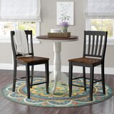 Courtdale 24 Bar Stool (Set of 2) by Three Posts