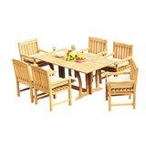Mastropietro 7 Piece Teak Dining Set