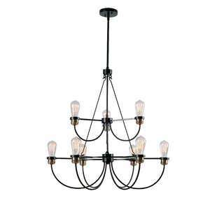 Williston Forge Georgeanna 9-Light Chandelier
