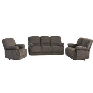 Condron Reclining 3 Piece Living Room Set (Set of 3) ByRed Barrel Studio