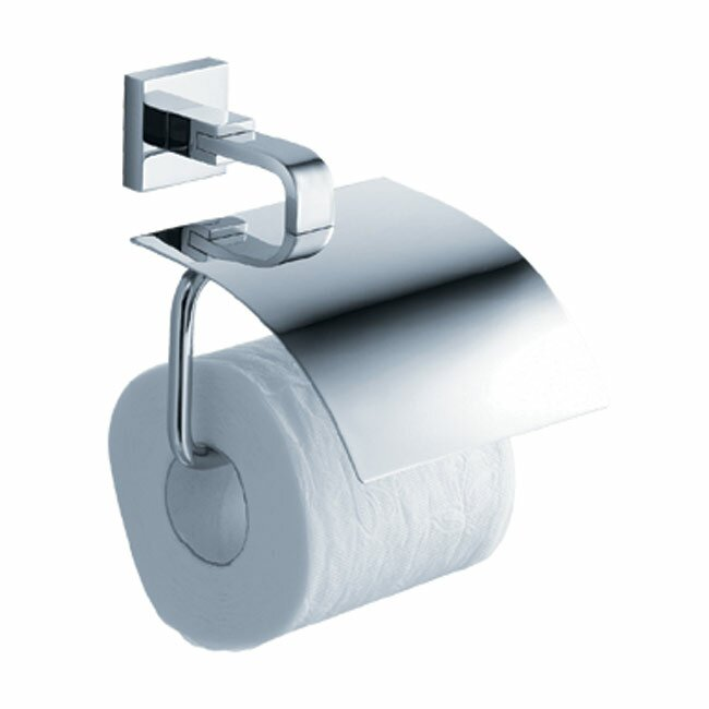 Paper Holder For Wall kraus aura wall mount toilet paper holder with cover & reviews