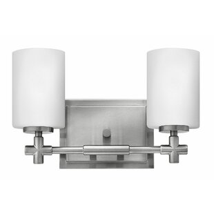 Laurel 2-Light Vanity Light by Hinkley Lighting