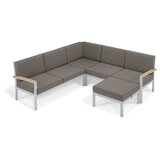 Denson Patio Sectional with Cushions