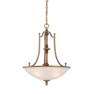 Designers Fountain Isla 3-Light Bowl Pendant