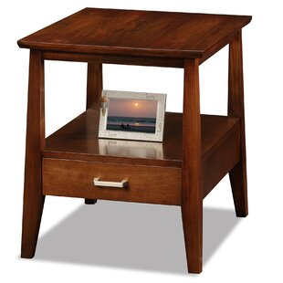 Hazleton End Table With Storage by Alcott Hill Cool
