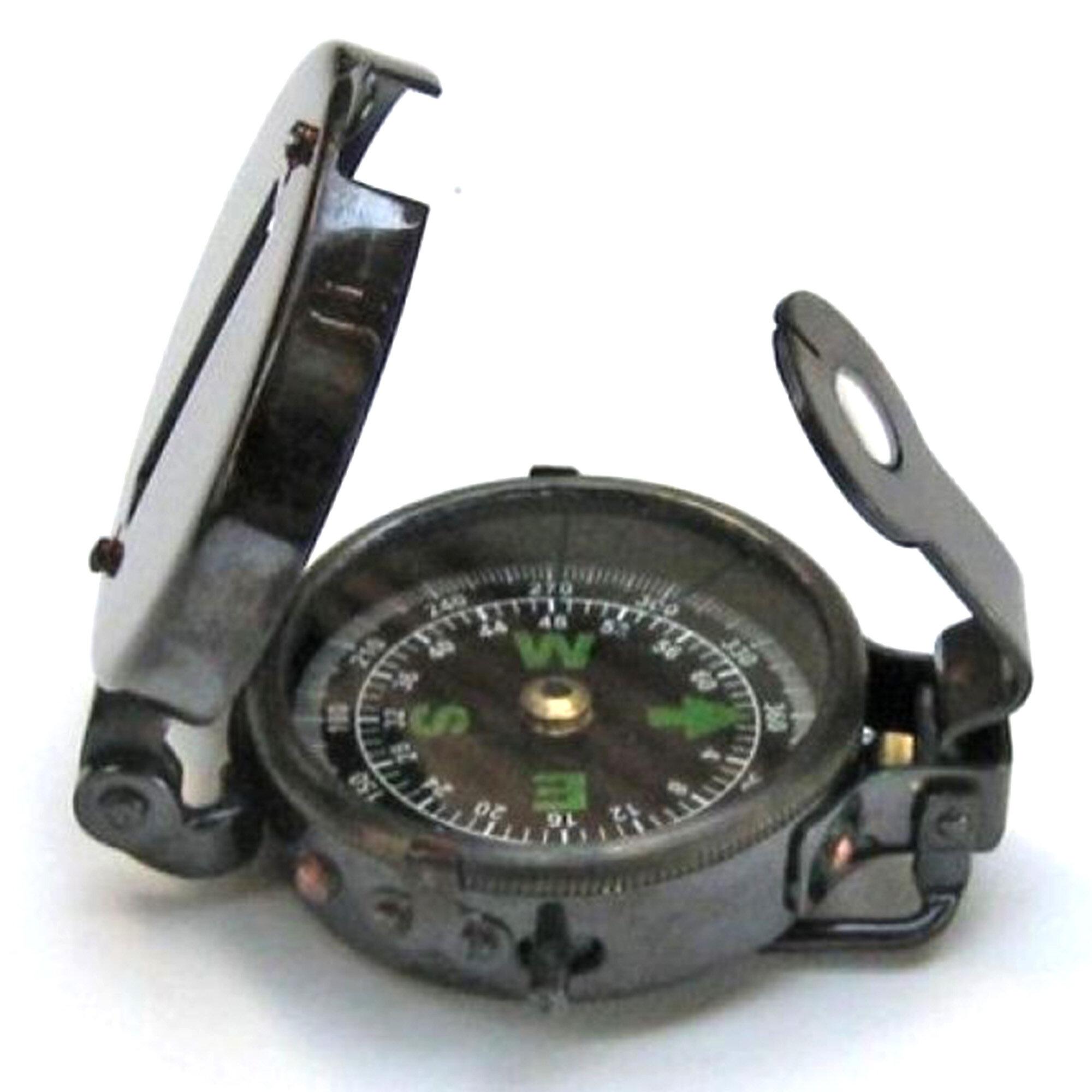 Breakwater Bay Mccready Military Compass Antique Sculpture Wayfair