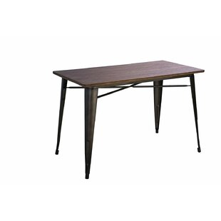 Williston Forge Ridenour Solid Wood Dining Table
