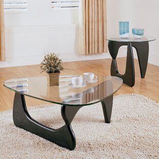 Guide to buy Chorus 2 Piece Coffee Table Set By Woodhaven Hill