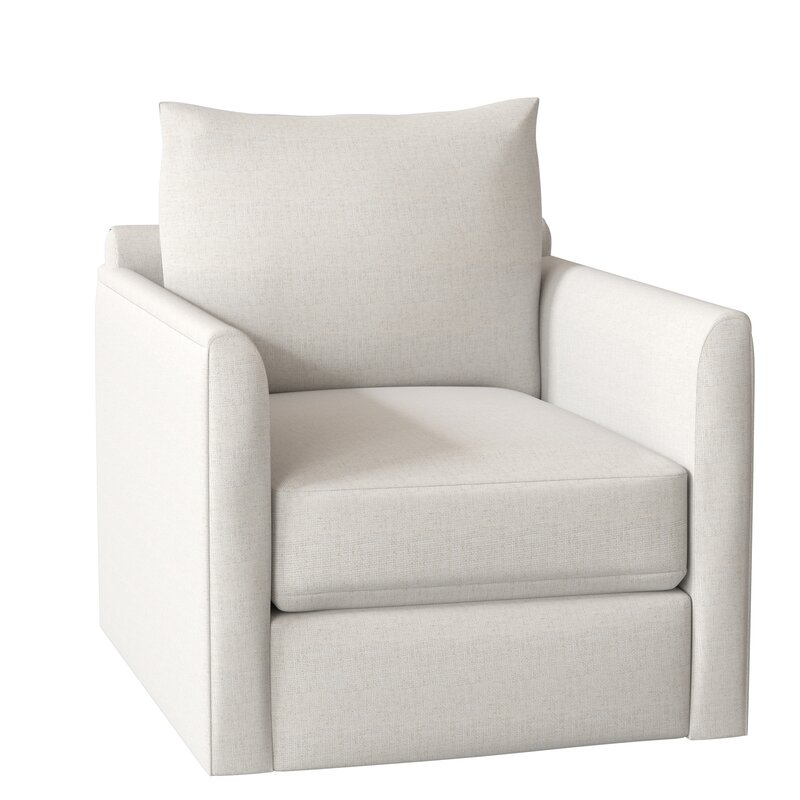 Kira Swivel Armchair Reviews Allmodern