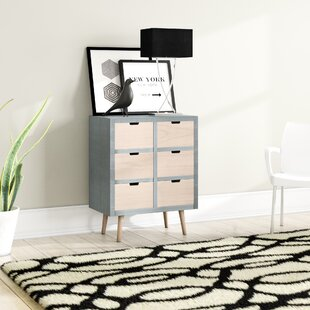 Rogers 6 Drawer Chest By Mikado Living
