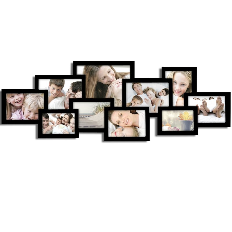 AdecoTrading 10 Opening Collage Picture Frame & Reviews | Wayfair