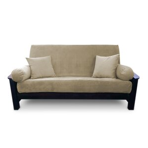 Simoes Solid Box Cushion Futon..