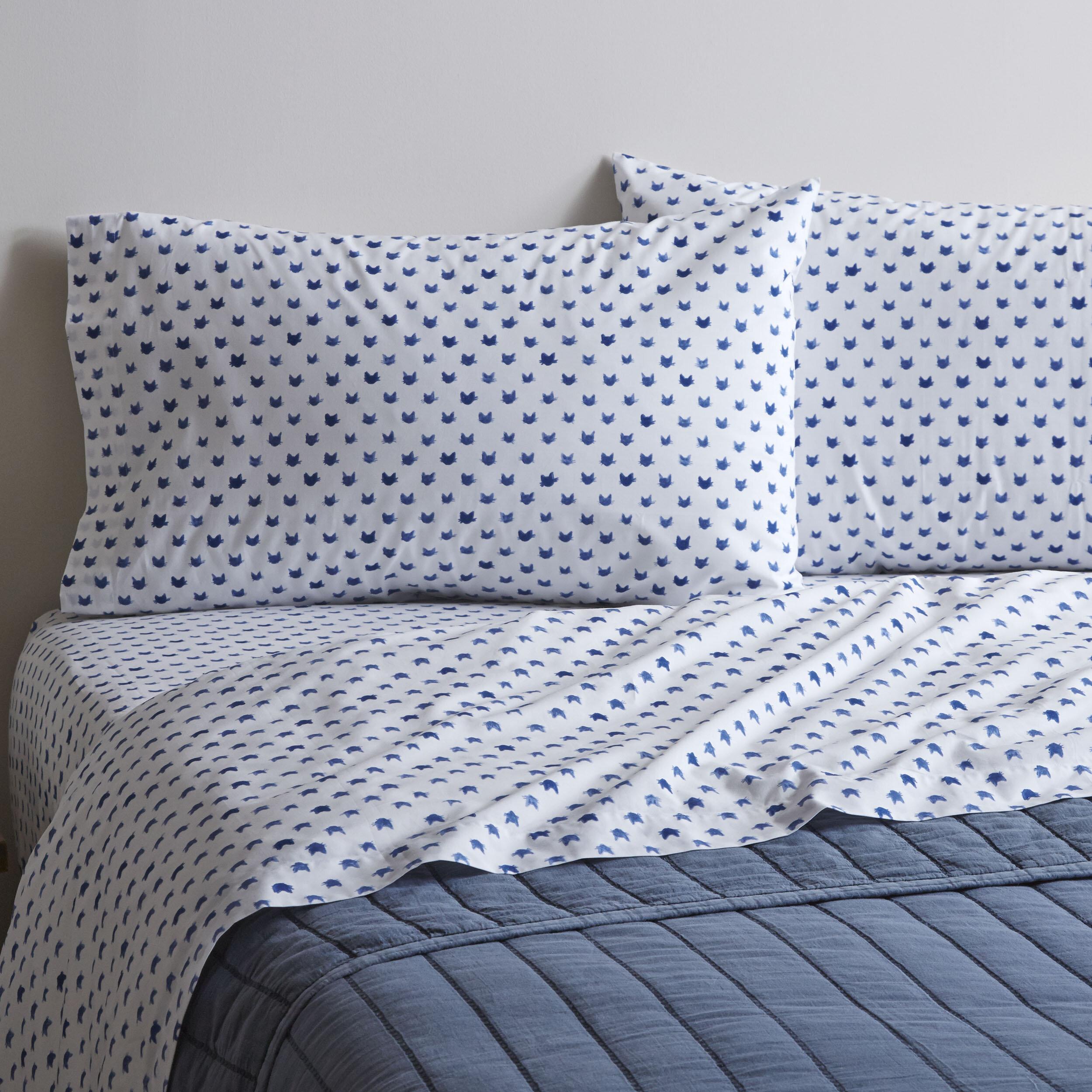Ed By Ellen Degeneres Cat 200 Thread Count 100 Cotton Sheet Set Reviews Wayfair