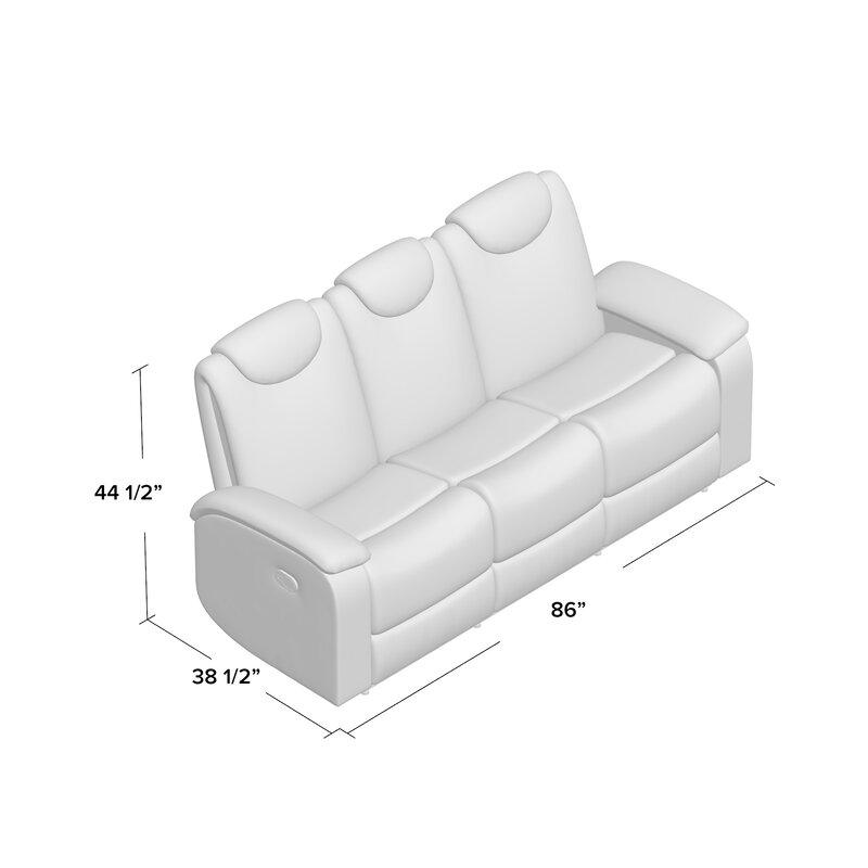 Erik Double Reclining Sofa