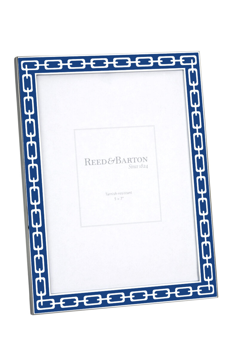 Reed Barton Silver Link Picture Frame Reviews Wayfair